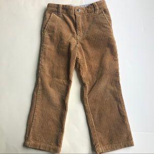 E-Land Kids Boy Wide Wale Tan Corduroy Pants 5